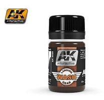 AK Air Series Wash for Landing Gear 35ml Bottle Hobby and Model Enamel Paint #2029