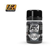 AK Air Series Wash for Exhaust 35ml Bottle Hobby and Model Enamel Paint #2040