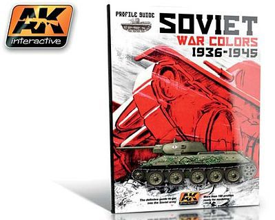 AK Interactive Soviet War Colors Profile Guide Book -- How To Model Book -- #270