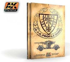AK Afrika 1941-1943 DAK Profile Guide Book Hobby and Model Paint Supply #271
