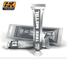 AK True Metal Wax Iron 20ml Tube Hobby and Model Enamel Paint #459