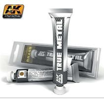 AK True Metal Wax Brass 20ml Tube Hobby and Model Enamel Paint #460