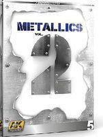 AK Metallics Vol.2 Learning Series Book How To Model Book #508