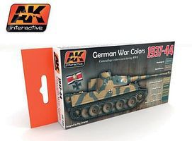 AK German War Colors 1937-44 Acrylic Paint Hobby and Model Paint Set #560