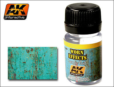 AK Interactive Worn Effects Acrylic Paint 35ml Bottle -- Hobby and Model Acrylic Paint -- #88