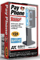 AK 1/24 Doozy Series- Pay Phone (Resin)