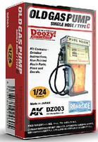 AK 1/24 Doozy Series- Pure NOLEAD Old-Type Gas Pump w/Single Hose (Resin)
