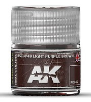 AK Real Colors- BSC N49 Light Purple Acrylic Lacquer Paint 10ml Bottle