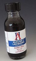 Alclad 1oz. Bottle Burnt Iron Lacquer Hobby and Model Lacquer Paint #121
