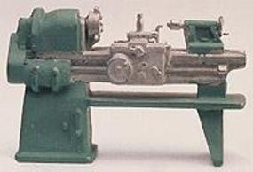 Alexander Lathe/Tool Maker HO Scale Model Railroad Building Accessory #2603
