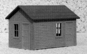 AM Williamsburg Yard Office HO Scale Model Railroad Building #103