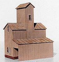 American-Models Silex Elevator Kit HO Scale Model Railroad Building #121