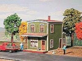 American-Models Springfield Cafe Kit HO Scale Model Railroad Building #136