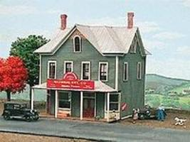 American-Models Nine Mile House Tavern Kit HO Scale Model Railroad Building #145