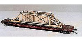 American-Models Wooden Crates w/Blocking for a Flat Car HO Scale Model Train Freight Car Load #287