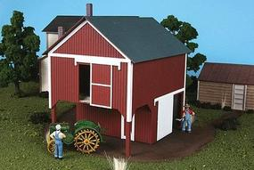 American-Models Loft Barn Kit O Scale Model Railroad Building #489