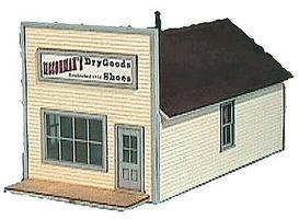 American-Models McCormacs Dry Goods Kit HO Scale Model Railroad Building #793