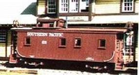 American-Models Class C-30-1 Caboose - Kit Southern Pacific HO Scale Model Train Freight Car #853
