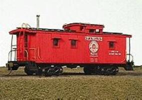 American-Models Class 50c Caboose - Kit Seaboard Air Line - Class 5CC HO Scale Model Train Freight Car #854