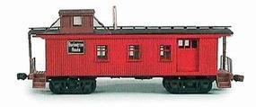 American-Models 30 Sidedoor Waycar Kit Chicago, Burlington & Quincy HO Scale Model Train Freight Car #858