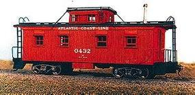 American-Models Class M3 Caboose - Kit Atlantic Coast Line HO Scale Model Train Freight Car #859