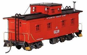 American-Models Class M3 Wood Caboose Kit Atlantic Coast Line HO Scale Model Train Freight Car #869