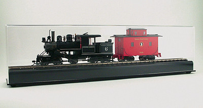 American Plastics HO Train Display Case,30'' - HO-Scale