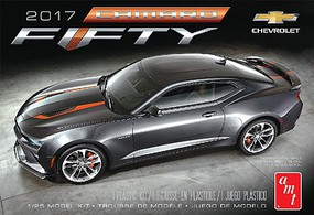 AMT 2017 Chevy Camaro 50th Anniversary Plastic Model Car Kit 1/25 Scale #1035