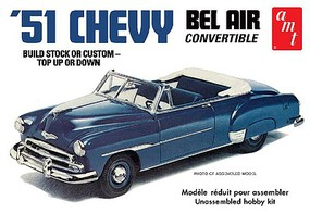 AMT 1951 Chevy Convertible Plastic Model Car Kit 1/25 Scale #1041