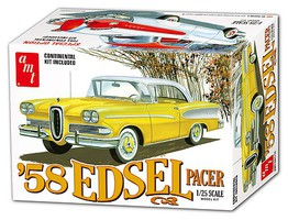 AMT 1958 Edsel Pacer Plastic Model Car Kit 1/25 Scale #1087