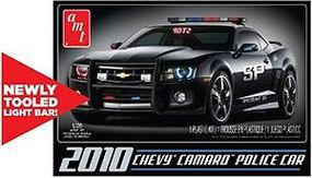 AMT 2010 Chevy Camaro Police Car Plastic Model Car Kit 1/25 Scale #817