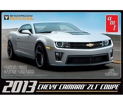 AMT/ERTL 2013 CHEVY CAMARO ZL-1 -- Plastic Model Car Truck Vehicle Kit -- 1/25 Scale -- #841