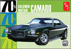 AMT 1970 CHEVY CAMARO Dark Green Plastic Model Car Truck Vehicle Kit 1/25 Scale #855