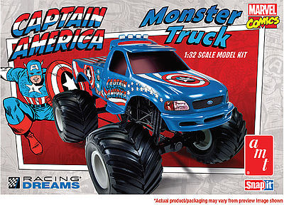 AMT/ERTL FORD F-150 MONSTER TRUCK -- Plastic Model Car Truck Vehicle Kit -- 1/32 Scale -- #857