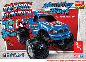 AMT FORD F-150 MONSTER TRUCK Plastic Model Car Truck Vehicle Kit 1/32 Scale #857