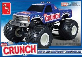 AMT 1/32 Nestle Crunch Chevy Monster Truck Plastic Model Truck Kit 1/32 Scale #911