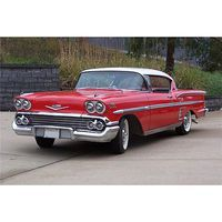 AMT 1958 Chevy Impala Plastic Model Car Kit 1/25 Scale #931