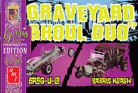AMT Graveyard Ghoul Duo (G.Barris Comm Edition) Plastic Model Car Kit 1/25 Scale #1017-12