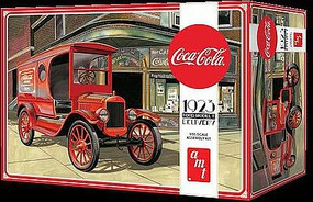 AMT Coca Cola 1923 Ford Model T Delivery Plastic Model Car Kit 1/25 Scale #1024-12