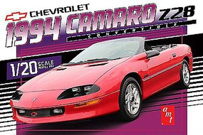 AMT 1994 Chevy Camero Convertible Plastic Model Car Kit 1/20 #1030-12