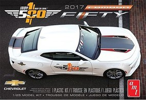AMT 2017 Chevy Camaro FIFTY Pace Car Plastic Model Car Kit 1/25 Scale #1059m-12
