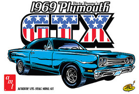 AMT Dirty Donny 1969 Plymouth GTX Plastic Model Car Kit 1/25 Scale #1065-12