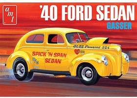 AMT 1940 Ford Sedan (OAS) Plastic Model Car Kit 1/20 Scale #1088-12
