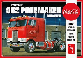 AMT Peterbilt 352 Pacemaker Cabover Plastic Model Truck Kit 1/25 Scale #1090-12