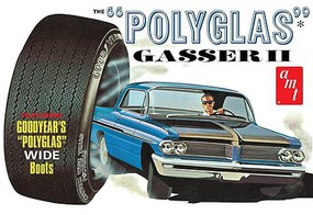 AMT 1962 Pontiac Catalina Polyglas Gasser I Plastic Model Car Kit 1/25 Scale #1092-12