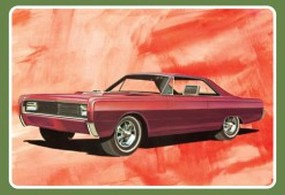 AMT 1966 Mercury Hardtop Plastic Model Car Kit 1/25 Scale #1098-12