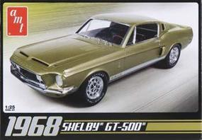 AMT 1968 Shelby GT500 Plastic Model Car Kit 1/25 Scale #634