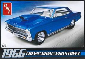 AMT 1966 Chevy Nova Pro Street Plastic Model Car Kit 1/25 Scale #636