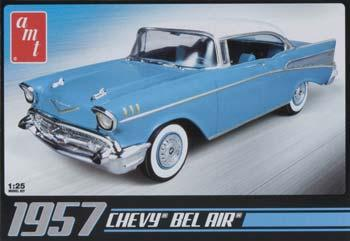 AMT/ERTL 1957 Bel Air -- Plastic Model Car Kit -- 1/25 Scale -- #638
