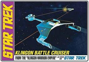 AMT Star Trek Klingon Battle Cruiser Std Ed. Plastic Model Spaceship Kit 1/650 Scale #720